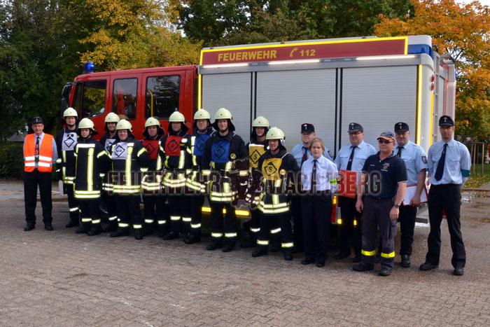 Feuerwehr Wachtberg auf Leistungsprüfung im Saarland