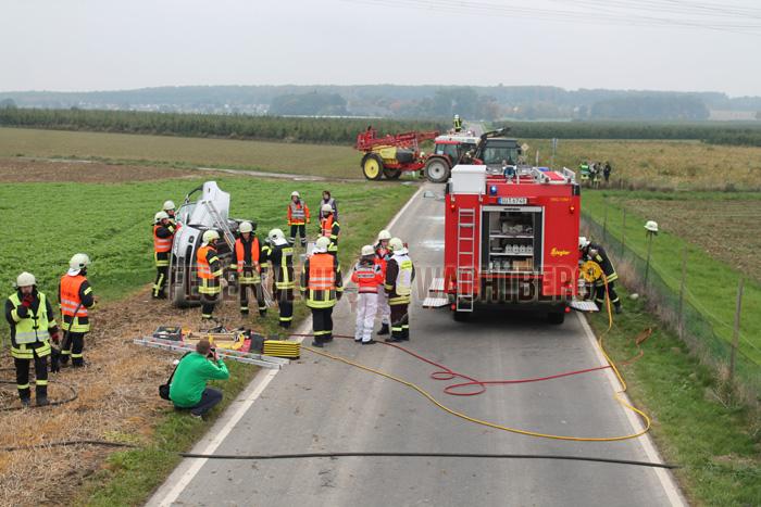Alarmübung Feuerwehr und DRK Wachtberg 01