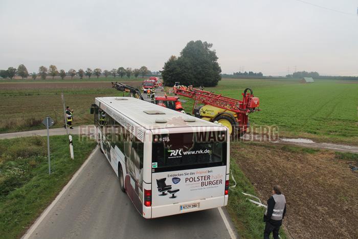 Alarmübung Feuerwehr und DRK Wachtberg 02