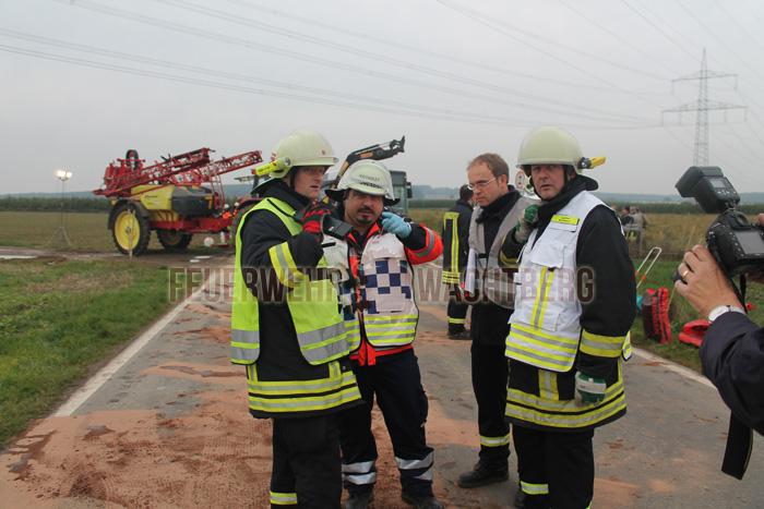 Alarmübung Feuerwehr und DRK Wachtberg 05