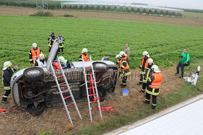 Alarmübung Feuerwehr und DRK Wachtberg 06