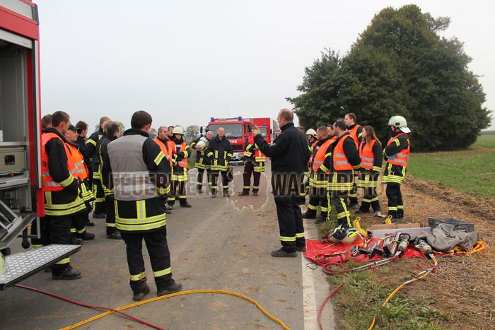 Alarmübung Feuerwehr und DRK Wachtberg 07