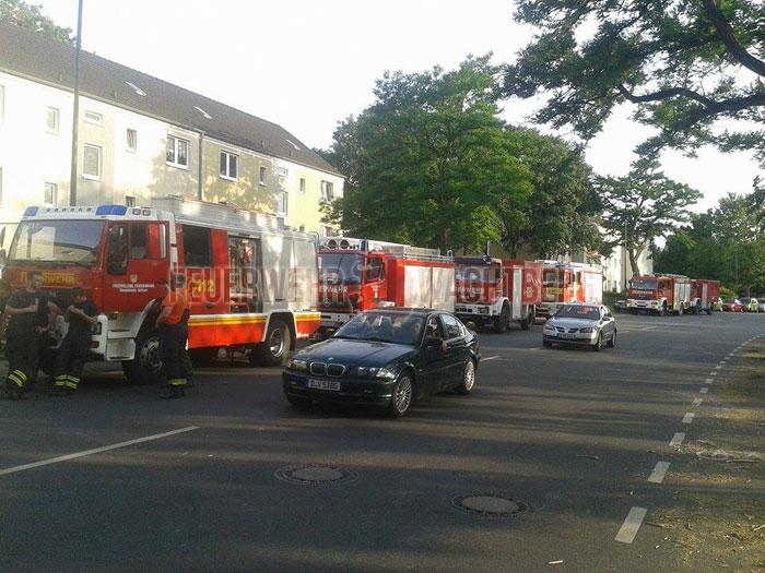 Hilfeleistung Unwetter Düsseldorf