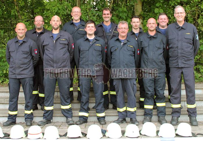 Gruppenfoto der Wachtberger Teilnehmer