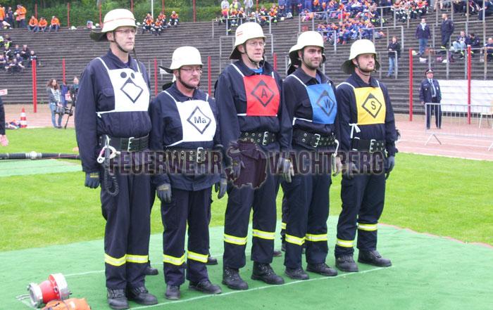 Wachtberger Kameraden erhalten Feuerwehrleistungsabzeichen des Großherzogtum Luxemburg und die Feuerwehr Leistungsspange Saarland in Bronze 02