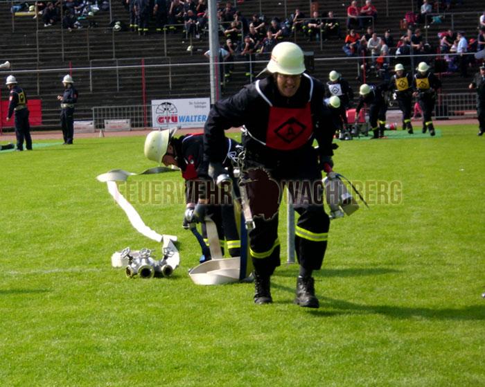Wachtberger Kameraden erhalten Feuerwehrleistungsabzeichen des Großherzogtum Luxemburg und die Feuerwehr Leistungsspange Saarland in Bronze 04