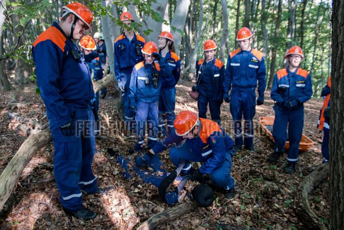 24h-Übung der Jugendfeuerwehr Wachtberg 02