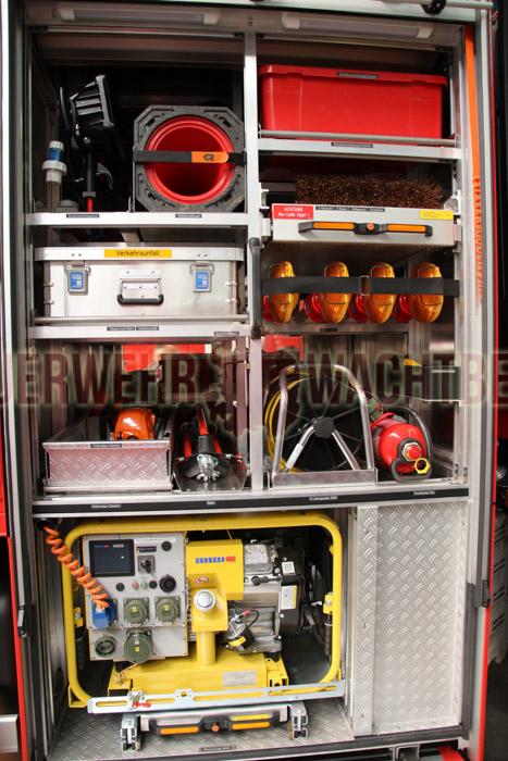 Geräteraum 2 - Stromerzeuger, technische Hilfe