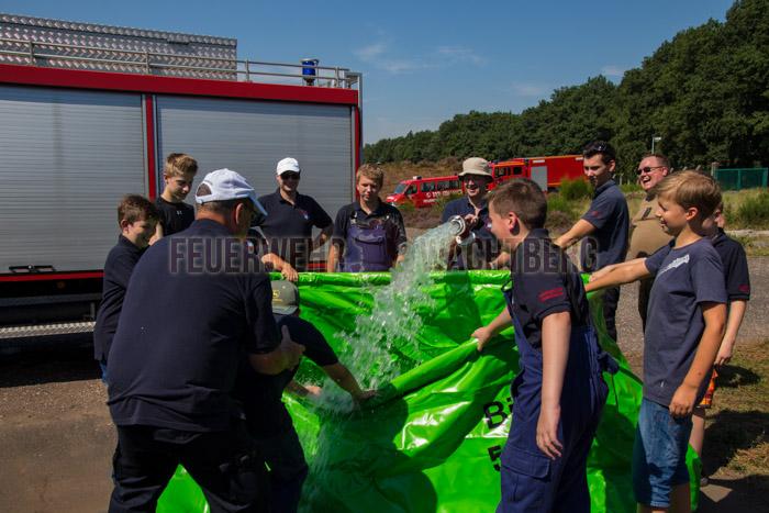 24h Übung Jugendfeuerwehr Wachtberg in der Wahner Heide 04