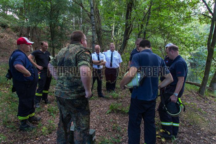 24h Übung Jugendfeuerwehr Wachtberg in der Wahner Heide 05