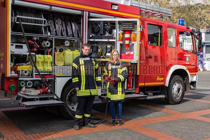Girls-Power bei der Feuerwehr Wa