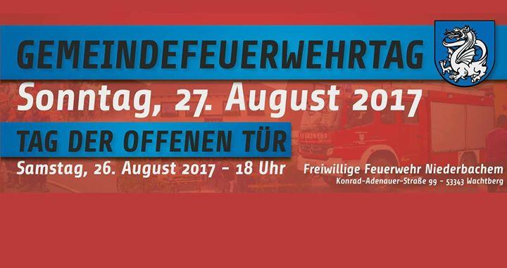 Gemeindefeuerwehrtag 2017 in Nie